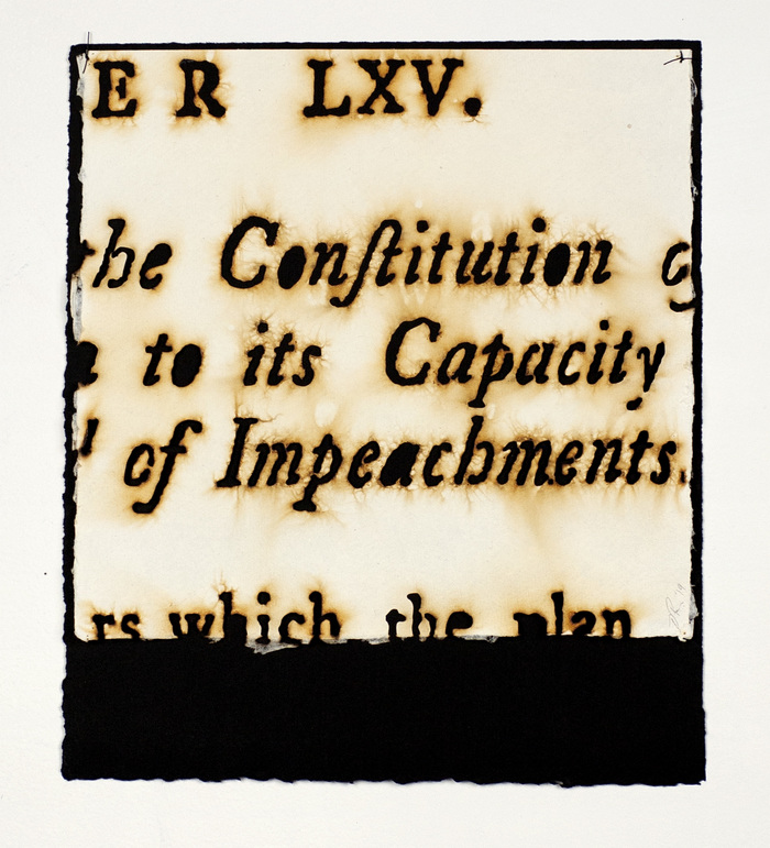 Federalist Papers Impeachments