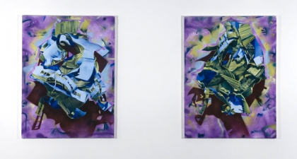 donovan barrow paintings and mixed media acrylic on canvas