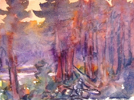 Don Wynn Watercolors watercolor