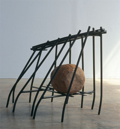 Douglas Culhane Sculpture wood & steel