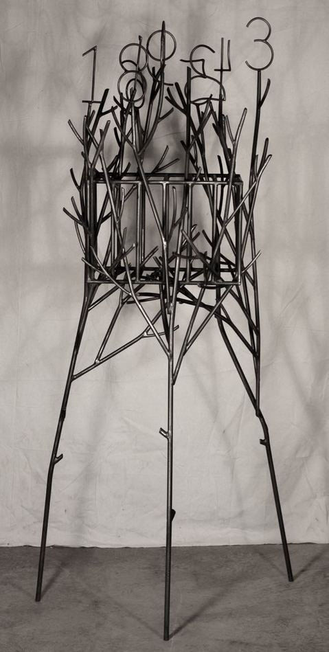 Douglas Culhane Sculpture Welded steel