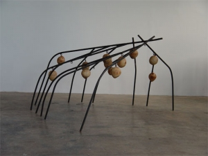 Douglas Culhane Sculpture Steel & Wood