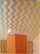Greg Drasler Wiggle Room oil on canvas