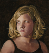 David Philips Portraits Oil on canvas