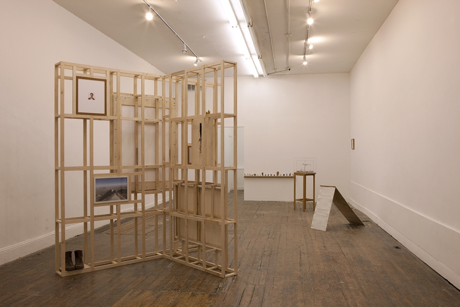 The Pleasure's Mine Installation View, 2011