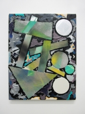 Edmund Chia 2012 Acrylic, enamel, canvas, wood