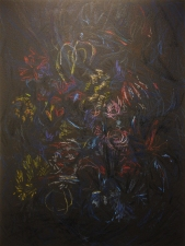 Edmund Chia 2009-a Acrylic and oil pastel on canvas
