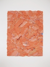 Edmund Chia 2011-a Acrylic, sand, aluminium screen on panel