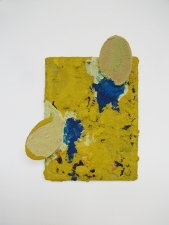 Edmund Chia 2011-a Acrylic, sand, glitter on canvas