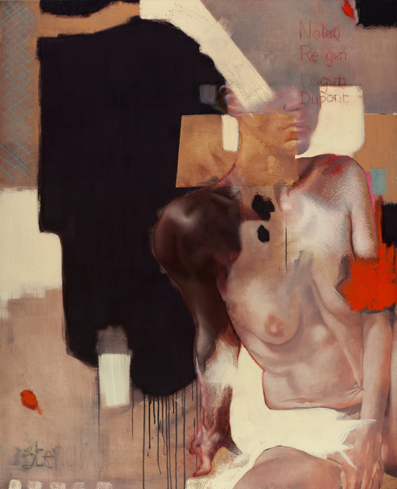 P O V E Y  and  S C H U L T Z  |  British - American artist duo Paintings - Earlier Works Oil on Linen
