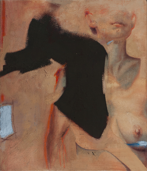 P O V E Y | S C H U L T Z      British | American artist duo Paintings - Earlier Works Oil on linen