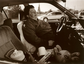 WOMEN OF COURAGE  Portfolio Completed ELENA IN MOTHER'S CAR