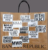 EGON ZIPPEL Devandalizing  Paraphernalia  Stickers on paper bag