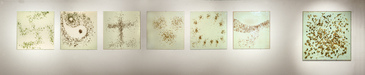 EGON ZIPPEL Insects / Spiders Insects, glass panels