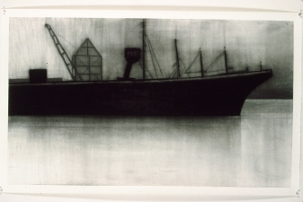 Eileen Gillespie Drawings Archive charcoal on paper