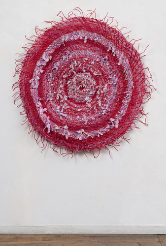 Eileen Hoffman BLOOMS chenille pipe cleaners and fabric