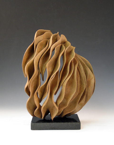 Elaine Lorenz Organic Abstracts Ceramic