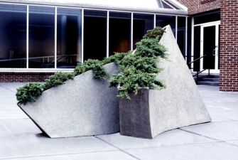 Elaine Lorenz Public Sculptures and Commissions Concrete,steel, earth, plants