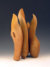 Elaine Lorenz Knife Edge Series  Ceramic, acrylic stain