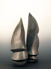 Elaine Lorenz Knife Edge Series  Glazed Ceramic