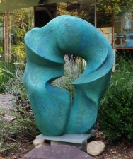 Elaine Lorenz Outdoor Sculpture Fiberglas and cement