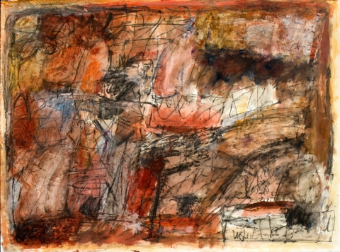 elaine souda Selected Works on Paper 2009 -16 Acrylic & Ink on Paper