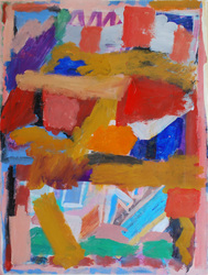elaine souda Paintings 90's Acrylic on Paper
