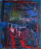 elaine souda Paintings:  Blue Notes Acrylic on Canvas