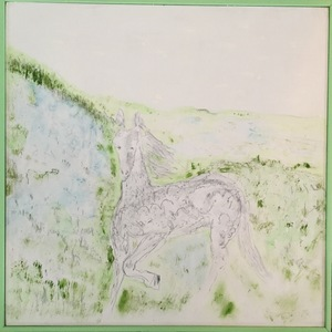 ELENI SMOLEN Ridgeline Sketches Series Graphite and watercolor on birch panel