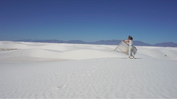 INITIAL ENCOUNTERS Selenite Dunes (It Keeps Moving, But We Are Here)