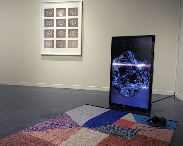VARIED CHOREOGRAPHIES Installation view