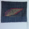 FORM OF THINGS woven linen, collage with velum prints, tape, linen and frame.