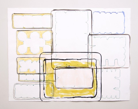 Elisabeth Haly Meyer 2007-2008 watercolor, pencil, India ink