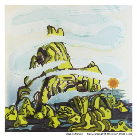 Archive: Paintings 2003-5 Frog Mountain