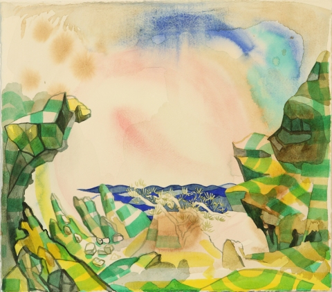 Cadaques Watercolors at Emerson Dorsch, Miami, 2010 Respite From a Misspent Youth