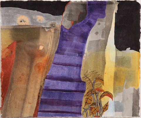 Travel Memory Watercolors at Schoolhouse Gallery, Provincetown, MA, 2012 Disco Steps