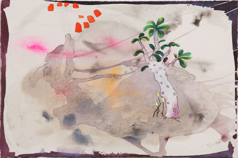 Travel Memory Watercolors at Schoolhouse Gallery, Provincetown, MA, 2012 Notations of Space