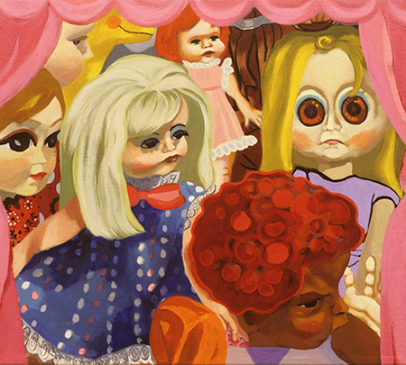 Elisabeth Condon DOLLS 1995 - 2001 Oil on canvas