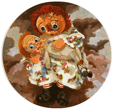 Elisabeth Condon DOLLS 1995 - 2001 Oil on linen