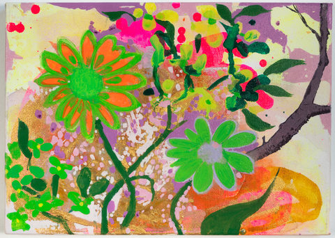 Elisabeth Condon  Flower and Tree<br/>