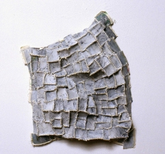 Elisa D'Arrigo Sewn and Constructed Cloth and Paper Works paper, cloth, acrylic paint,thread