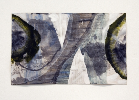 Elisa Lendvay Studio Selected Works on Paper gouache, pencil, paper,cardboard