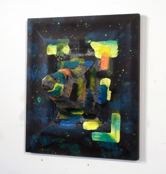 Selected Paintings Space Protrusion