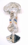 Selected Works 2011-2012 papier mache, fabric, mylar, wood