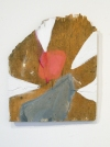Selected Paintings  oil on found wood and plastic