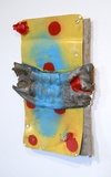 Selected Paintings metal, epoxy, acrylic, spray paint, straw