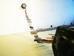 Elisa Lendvay Studio Reiterations (memory) and Thought forms