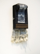 Elisa Lendvay Studio Force of Things acrylic on papier mache, plastic, aluminum, newspaper