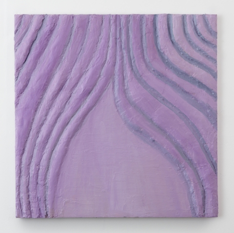 Elisa Soliven 2 Oil and plaster on panel