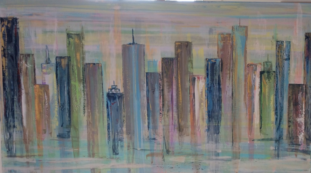 PAINTINGS Cityscape IV